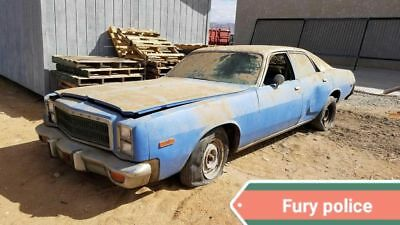 1978 Plymouth Fury Police 360 Police package 360 BARN FIND