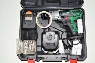 Force Lock Tool Locksmith Impact Drill Driver +12 Bits +Li Ion Battery
