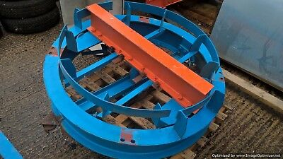 Gantry Crane Around the Corner Rolling Curved With 90 Degree Hydraulic Operator