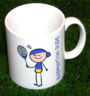 Badminton Dude Mug