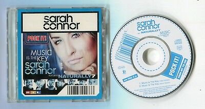 Sarah Connor 3-INCH cd-single MUSIC IS THE KEY 2-track video + album version