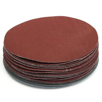 "Loop Hook Sandpaper 6"" 150mm 1000 3000 Abrasive Discs 1500 Mixed Sanding Grit"