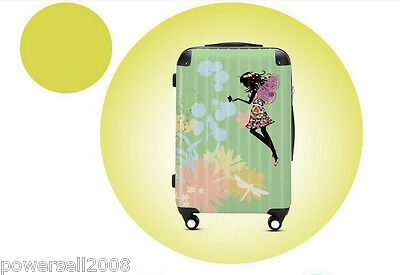 "28"" Lovely Dream Girl Universal Wheel ABS+PC Pull Rod Box Luggage Box #35 LLX"