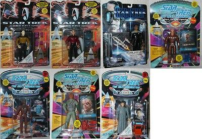 Star Trek  figuren playmates ovp aussuchen: The Next Generaciones / First