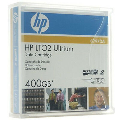 HP LTO 2, C7972A, 200/400 GB, Data Cartridge Datenkassette, NEU & OVP