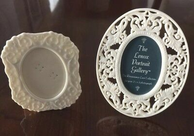 Small Lenox Picture Frames, Set of 2