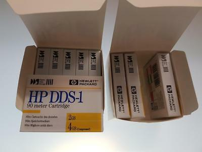HP DDS-1  90M DAT Data Cartridges Tape OVP 9 Stück