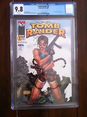 Tomb Raider #1 CGC 9.8 - !st Tomb Raider in her own title