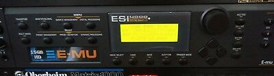 Sampler EMU E-MU Emulator ESI4000 15GB HD Orbit Proteus Planet Phatt VintageKeys