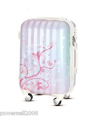 "28"" TSA Lock Universal Wheel Multicolor Print Ultralight Travel Suitcase Luggage"