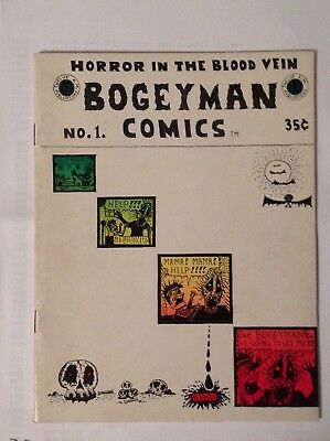 Bogeyman Comics No. 1 Horror in the Blood Vein Rory Hayes 1968 SF Comic Book Co