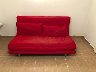 Ligne Roset Multy in Rot - Schlafsofa