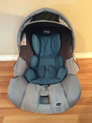 CHICCO KEYFIT 30 Infant Car Seat Cushion Cover Canopy Set Part Gray ...