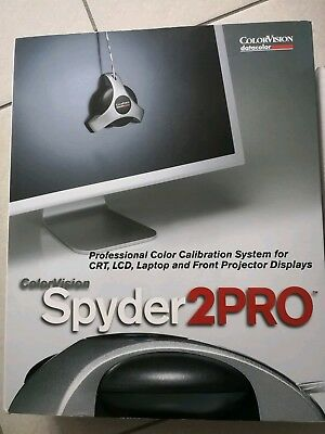 ColorVision SPYDER2PRO STUDIO PANTONE colorist Software  neu