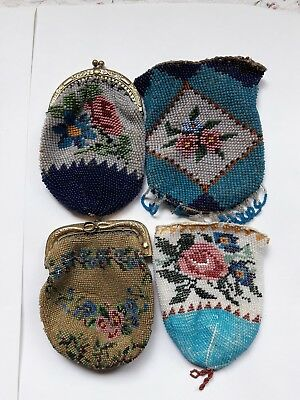 antike Perlentaschen antique beaded purses