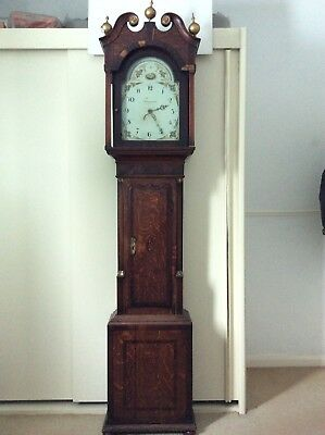 Grandfather Clock - Thos Glase of Bridgnorth needing restoration. See details.