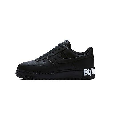 Nike Air Force One 1 CMFT BHM Equality AQ2125-001 Size 10.5 Black White DS