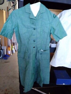 Official Girl Scout dress Vintage 1960's Size 8, girl