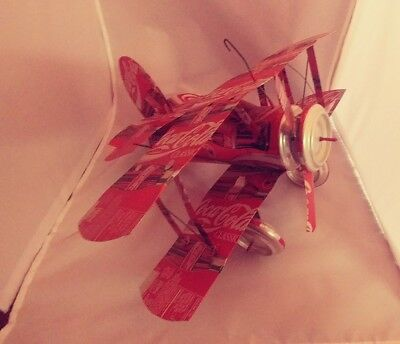 coca cola can airplane