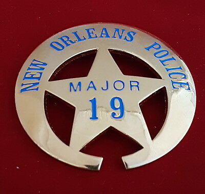 New Orleans Major Police Badge