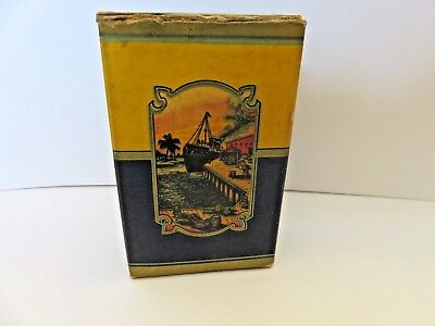 Vintage advertising Hy-Zest Brand spice tin/box with ship from Chicago Illinois