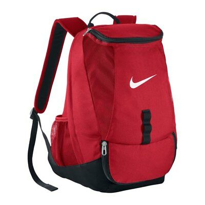 fa65712198923 10x Nike Club Team Swoosh Backpack Rucksack rot