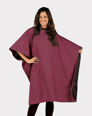 Reversible Barber Hairdressing Gown Dye Styling Salon Shampoo Hair Cape Cloth