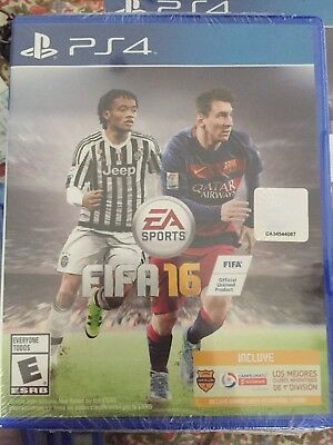 BRAND NEW SEALED FIFA 16 PS4 LATAM EDITION INCLUDES 1st DIVISION ARGENTINA CLUBS