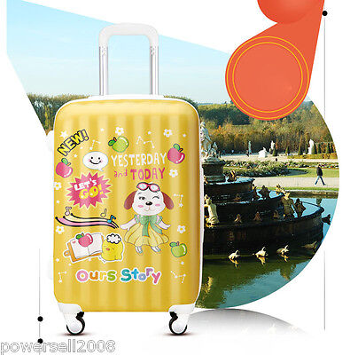 "28"" Fashion Elegant Universal Wheel ABS+PC Travel Suitcase Luggage ELL03102 LLX"