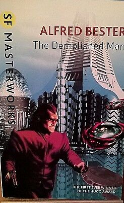 THE DEMOLISHED MAN by ALFRED BESTER - (1999) - SF MASTERWORKS (YELLOW) Pbk