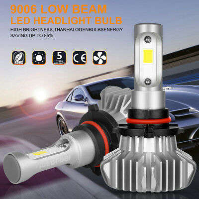 CREE 9006 1080W 162000LM LED Headlight Bulbs Low Beam Conversion Kit 6500K Xenon