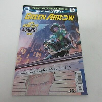 DC Comics Rebirth Green Arrow #33 NM