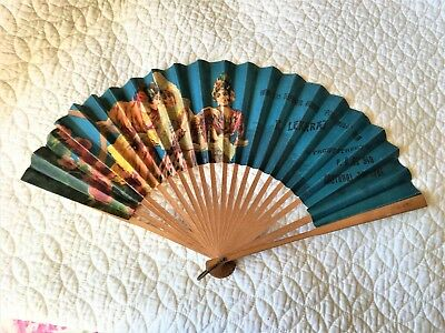 Antique Advertising Fan from Cristobal Canal Zone, Rare