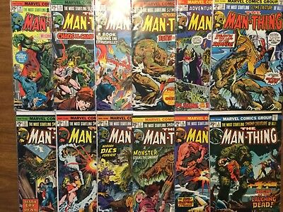 Marvel The Man-Thing 5-19 Not Complete Ploog Art Swamp Creature