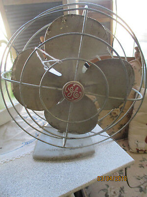 vintage ge fan WORKS!!