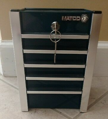 Matco mini tool box coin bank piggy bank
