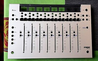 EUPHONIX MC MIX Face Plate Silver