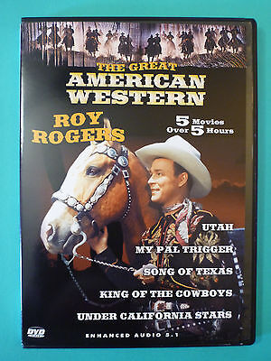 Utah / My Pal Trigger / Song of Texas / King of the Cowboys (DVD*Western)