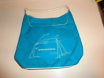 Vintage American Airlines Fair Ladies Tote Bag  1970's