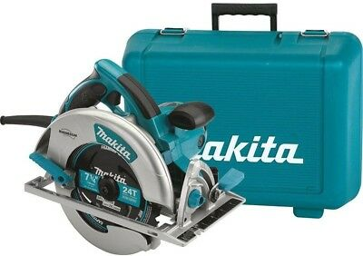 Makita Saw 15 Amp 7-1/4 in. Corded Lightweight Magnesium Rubber Grips LED Dust