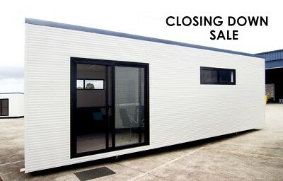 Portable Building - 2 Room - Office, Studio or Accommodation 8.1 x 3m