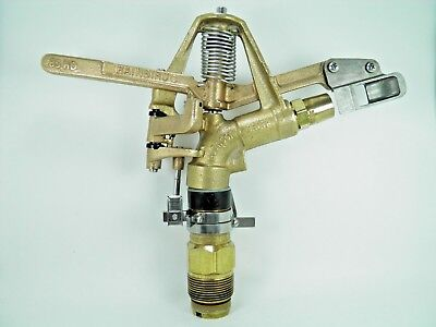 "Rebuilt Rain Bird #85-Ehd-La Adj 11/4"" Brass Impact Sprinkler/end Gun List $400+"