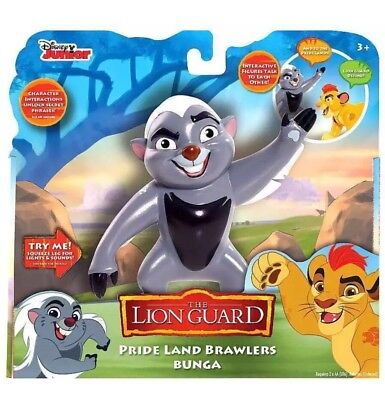 Disney The Lion Guard Pride Land Brawlers Bunga Poseable Interactive Figure King