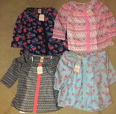 NEW!!!  girls shirts size 10/12 lot clothes spring summer New With Tags!