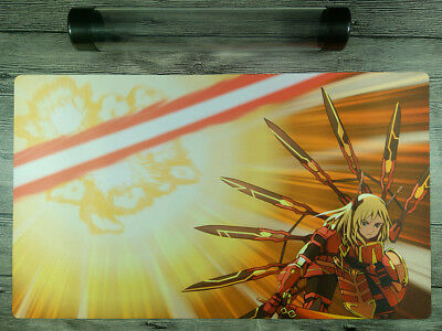 YuGiOh Brandish Maiden Custom Trading Card Game Playmat Free High Quality Tube