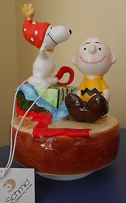 Happy Anniversary 1950 1980 6657/15.000 Charlie Brown Linus Music Box Le Schmid