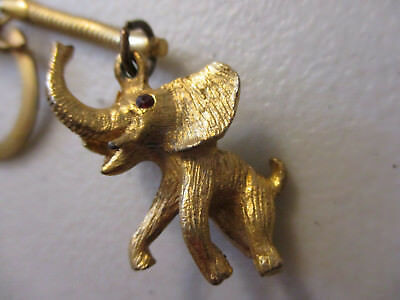 Republican Presidential Primary Elephant Key Chain Vintage Conservative 1960s