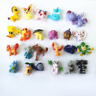 24/48/72/144 Pcs Random Mixed Lots Pokemon Mini Random  Figures Kids gift NEW