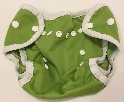 Thirsties Diaper Cover Green Size One