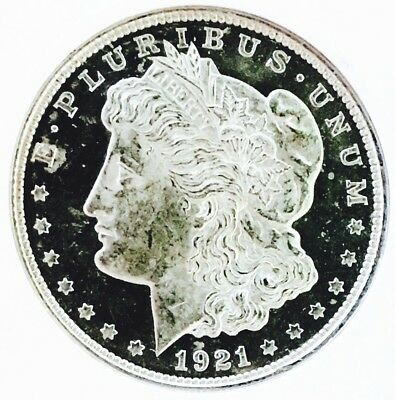 1921 P Morgan! Ultra Proof Like! Stunning Pl! So So Rare! Ms+++++++ Wow Coin! Nr